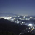 夜景 浅間山 EOS60D