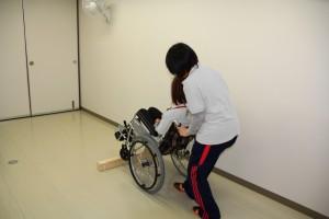 第16回問題車椅子段差越え