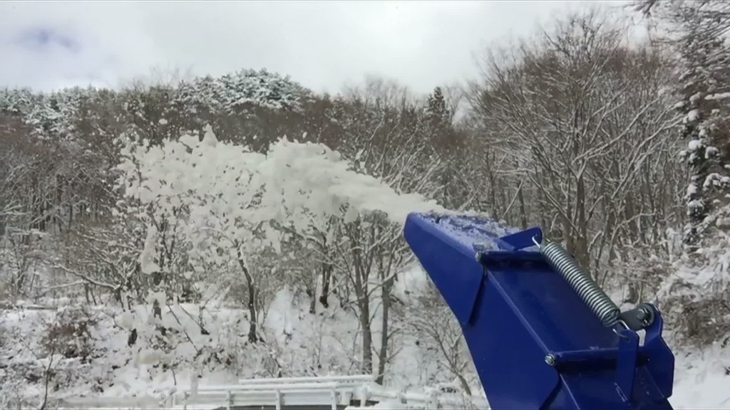 ヤマハYS-1070Tでベタ雪をブッ飛ばせ