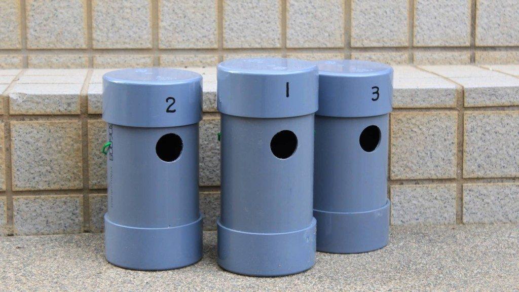 野鳥の巣箱をパイプを使って15分で作る方法