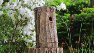 ナラの木で作る巣箱
