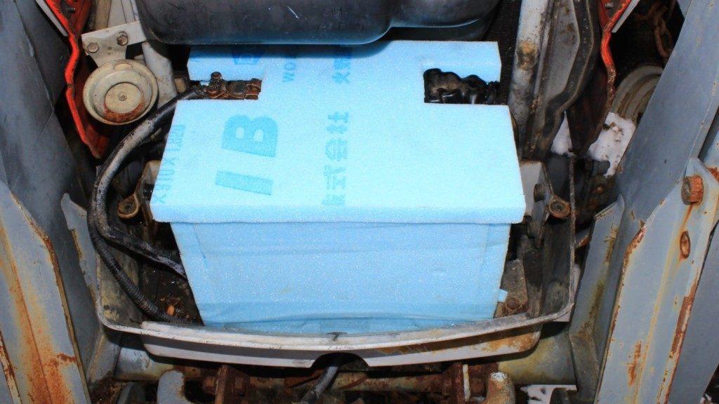 バッテリーを断熱材で保護して長持ちさせる