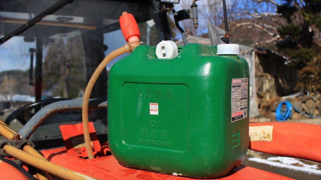 冬のディーゼルエンジンのトラブルは軽油の凍結