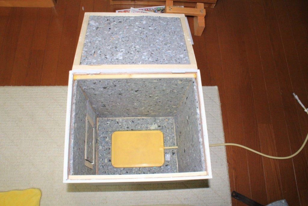 セキセイインコの冬越し用保温兼防音ケースの作り方