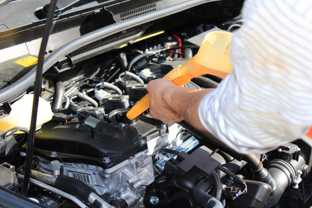 C-HRのエンジンオイル交換方法