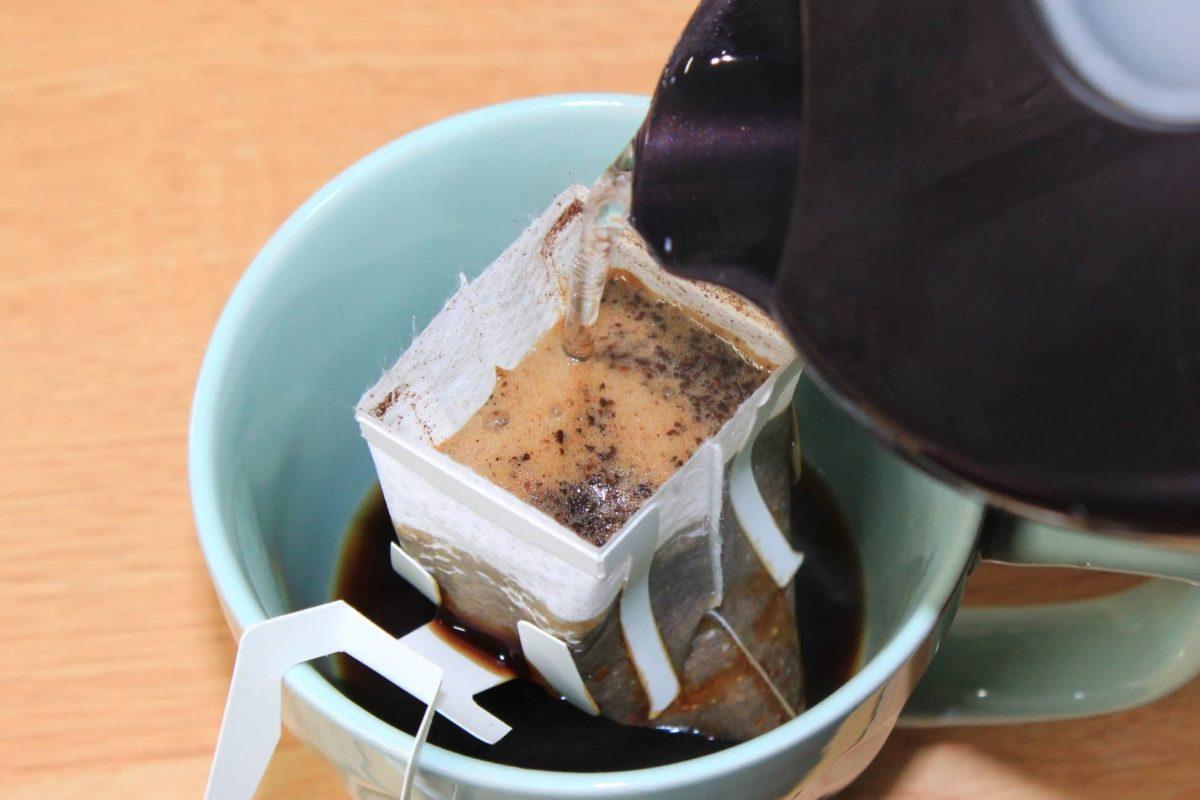 ドリップバッグコーヒーを美味しく入れる方法と道具一覧