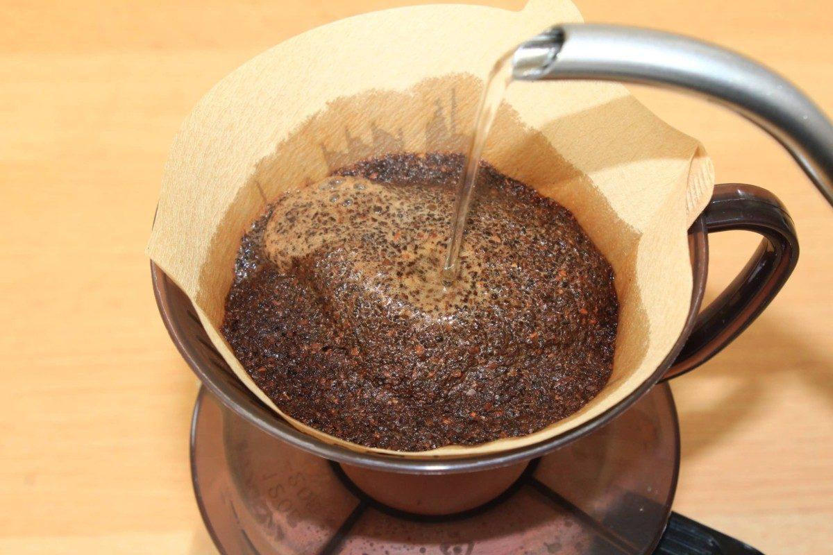 コーヒーをペーパードリップで美味しく入れる方法と道具一式
