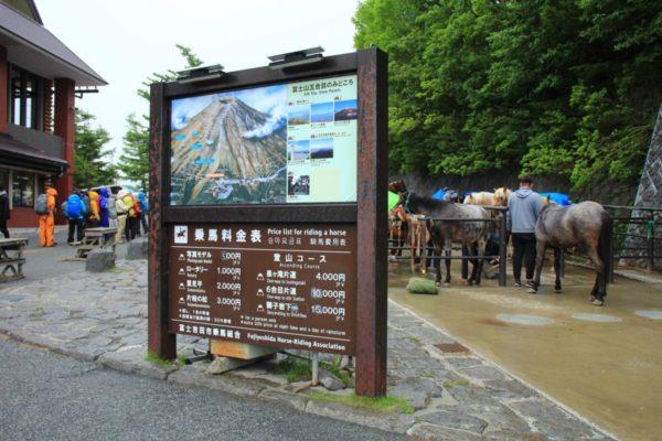 富士山パーキングからシャトルバスに乗って五合目へGO