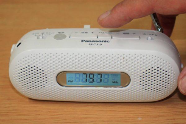 災害時の情報収集に手回し充電式ラジオのススメ