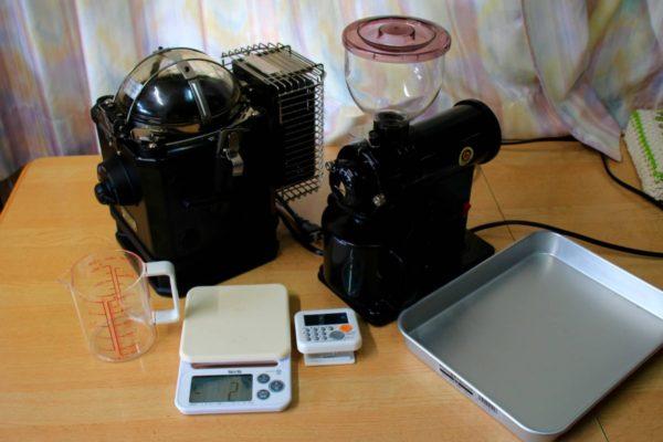 コーヒーの自家焙煎機とミルのオススメ機種はこれだ