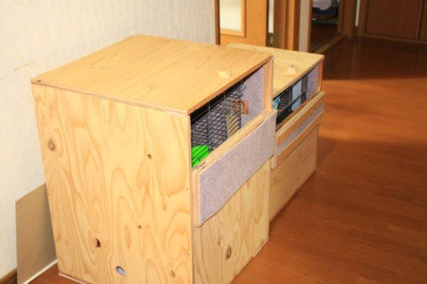 インコの安眠用防音兼保温ケースの製作