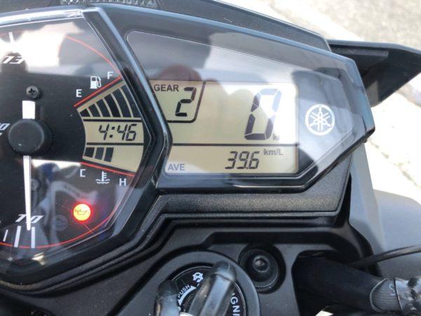 マジか!MT-25の燃費性能は現在39.6km/L!