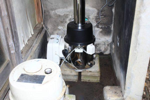 古い家の石油風呂釜をDIYで交換する手順
