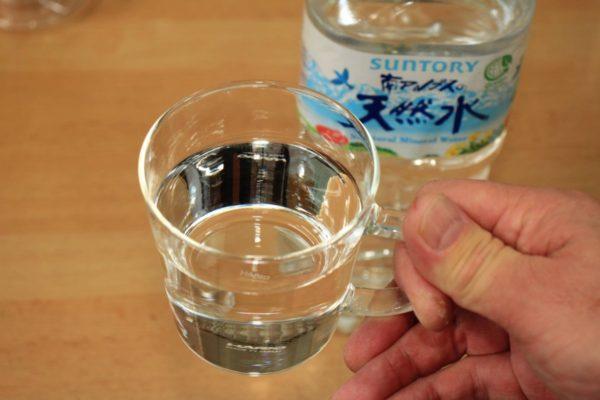 災害時の断水用に買った南アルプスの天然水でコーヒーを淹れた