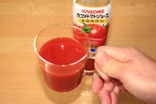 主治医に勧められて飲み始めた食塩無添加のトマトジュース