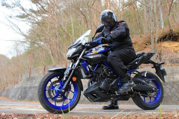 DUHANのジャケットで真冬でもバイクが寒くない