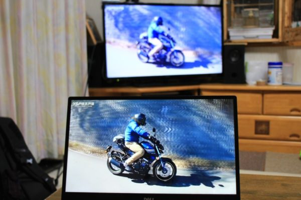 HDMIケーブルを使ってパソコンの画面をテレビに表示する方法