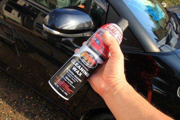 車のボディーの汚れ落としと艶出しが簡単に出来るFW1のススメ