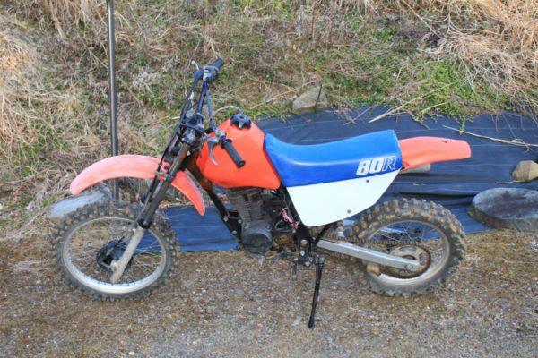 バイクのサイドカバーをEVA素材で自作する方法「XLR80R」