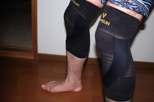 バンテリンの膝サポーターが良好です。
