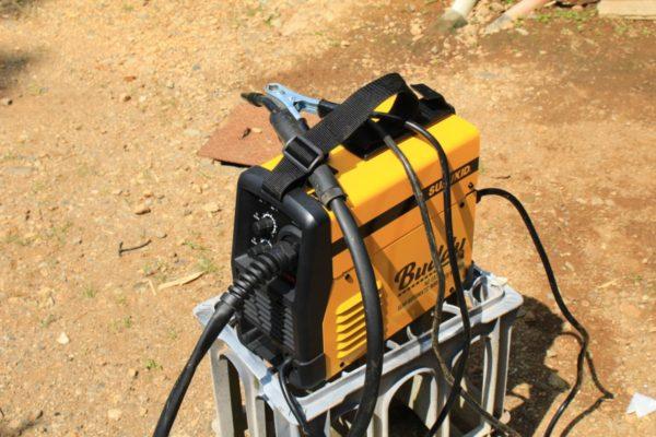 半自動溶接機でバイクやスクーターのビード落とし機を作る